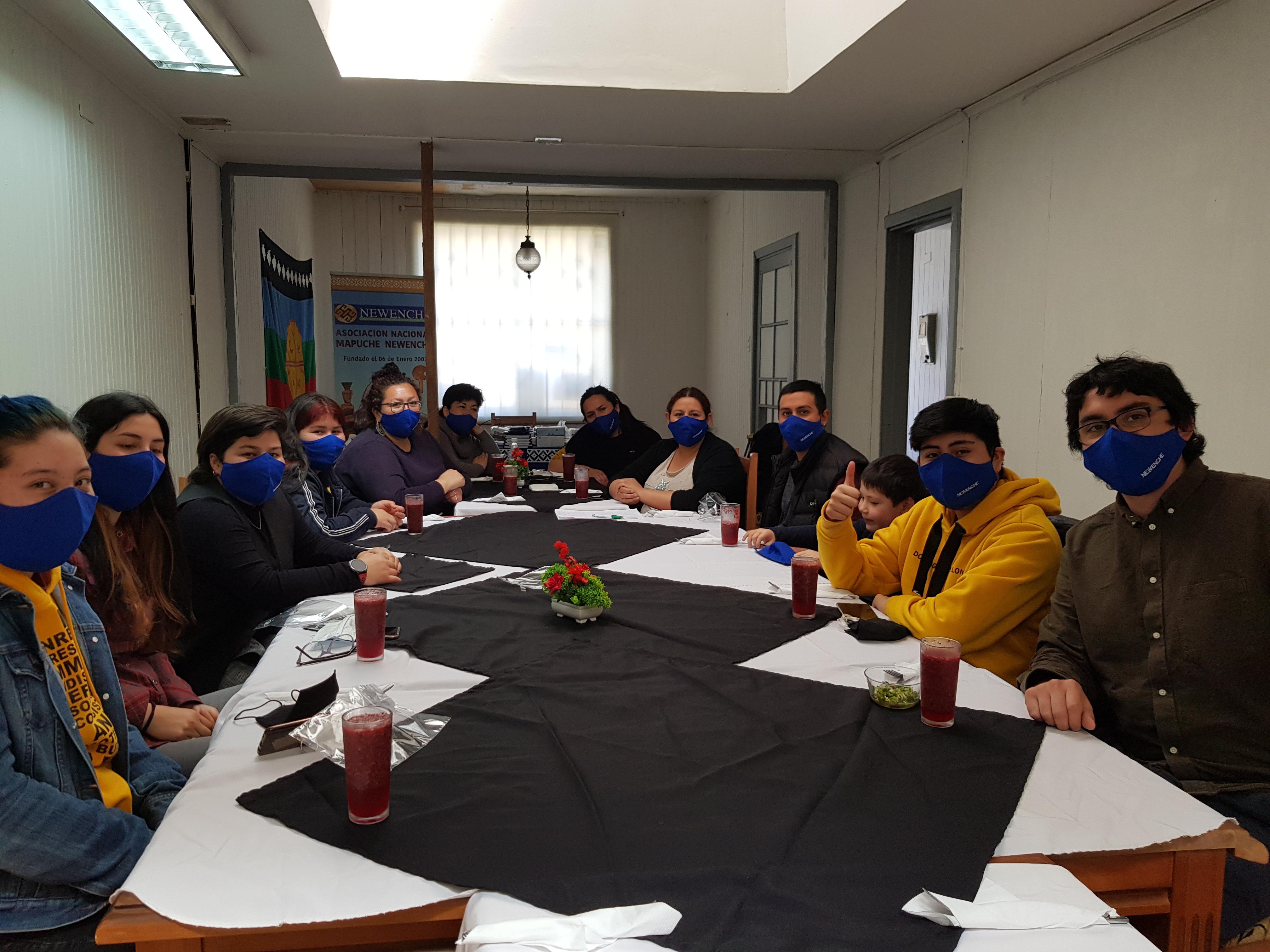 Conversatorio Nutram – Encuentro de Jóvenes Mapuches