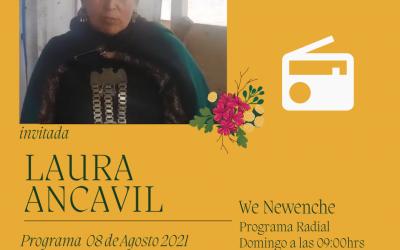 Programa Radial 08-08-2021Invitada Laura AncavilWe Newenche